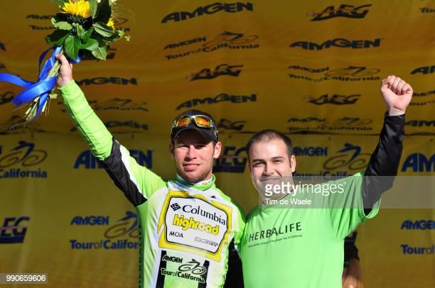 Tour Of California Stage 5Podium Mark Cavendish Green Jersey Celebration Joie Vreugde /Visalia Paso Robles /Ronde Rit Etape Tim De Waele