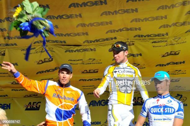Tour Of California Stage 5Podium Pedro Horrillo Munoz Mark Cavendish Tom Boonen Celebration Joie Vreugde /Visalia Paso Robles /Ronde Rit Etape Tim De...