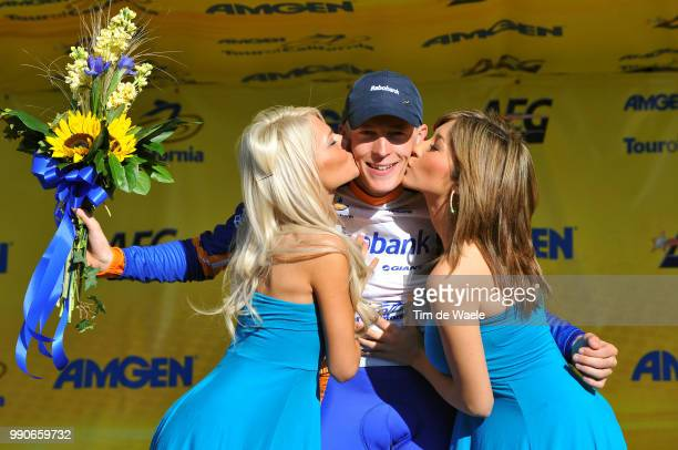 Tour Of California Stage 5Podium Robert Gesink Rabobank Jersey Celebration Joie Vreugde /Visalia Paso Robles /Ronde Rit Etape Tim De Waele