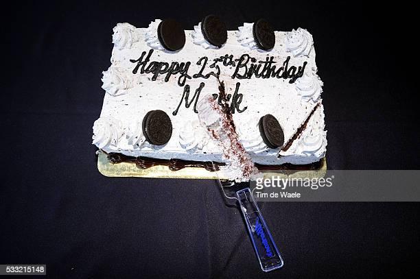 Tour of California / Stage 6 Mark Cavendish / 25th Birthday Anniversaire Verjaardag / Illustration Illustratie / Cake Gateau Taart / Palmdale Big...