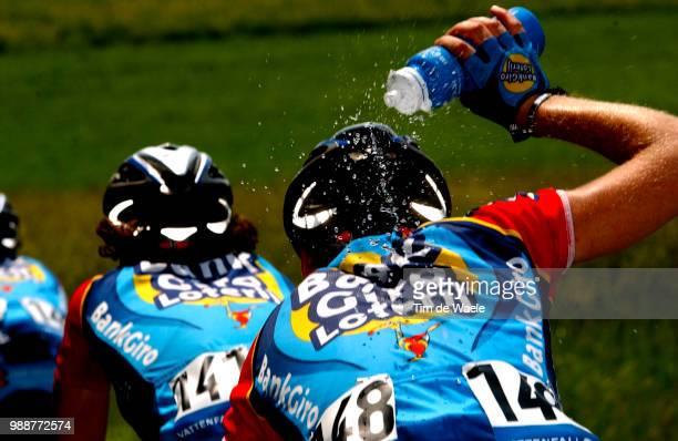 Tour Of Germany 2003 Illustration Illustratie Heat Warmte Challeur Water Eau Stage 3 Coburg Ansbach Deutschland Tour Tour D'Allemagne Ronde Van...