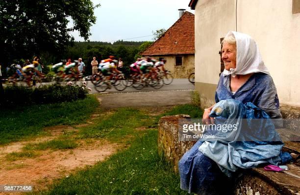 Tour Of Germany 2003 Illustration Illustratie Peleton Peloton Landschap Landscape Stage 3 Coburg Ansbach Deutschland Tour Tour D'Allemagne Ronde Van...