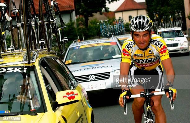Tour Of Germany 2003 Illustration Illustratie Peleton Peloton Landschap Landscape Paysage Stage 3 Coburg Ansbach Deutschland Tour Tour D'Allemagne...