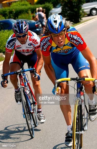 Tour Of Germany 2003 Voskamp Bart Baguet Serge Stage 3 Coburg Ansbach Deutschland Tour Tour D'Allemagne Ronde Van Duitsland Etape