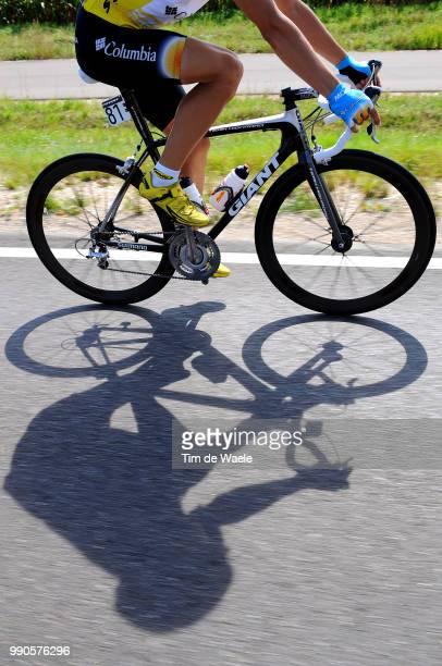 Tour Of Germany, Stage 2Gerdemann Linus Yellow Jersey, Illustration Illustratie, Shadow Hombre Schaduw, Munchen - Region Hesselberg /Deutschland...