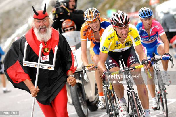 Tour Of Germany Stage 5Voigt Jens Yellow Jersey Gesink Robert Cunego Damiano Didi Senf Devil Diable Duivel Rettenbachferner Sonthofen SLden Solden...