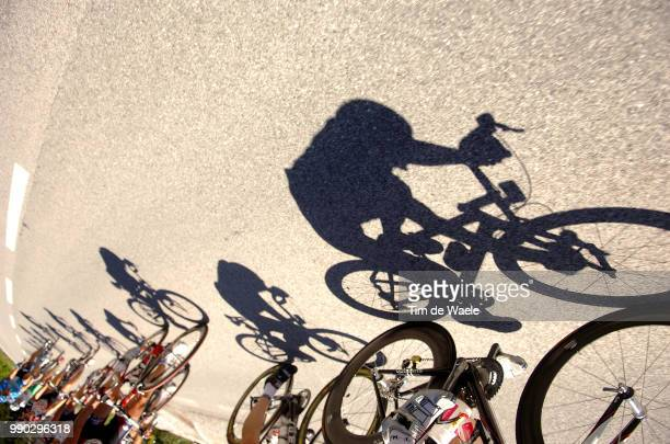 Tour Of Germany Stage 6Illustration Illustratie Shadow Hombre Schaduw Peleton Peloton /LNgenfeld Langenfeld Kufstein Tour D'Allemagne Ronde Van...