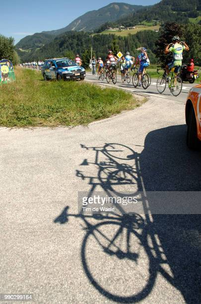 Tour Of Germany, Stage 6Illustration Illustratie, Shadow Hombre Schaduw Bike V?Lo Fiets , Team Rabobank, Ravitaillement Bevoorrading, L?Ngenfeld...