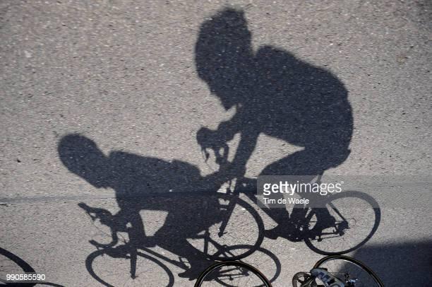 Tour Of Germany, Stage 6Illustration Illustratie, Shadow Hombre Schaduw, Gerdemann Linus Yellow Jersey, Peleton Peloton /Schmallenberg - Bad...