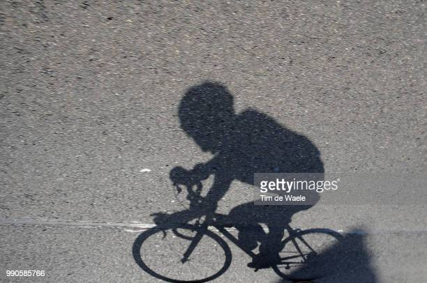Tour Of Germany, Stage 6Illustration Illustratie, Shadow Hombre Schaduw, Gerdemann Linus Yellow Jersey, Peleton Peloton /Schmallenberg - Bad...