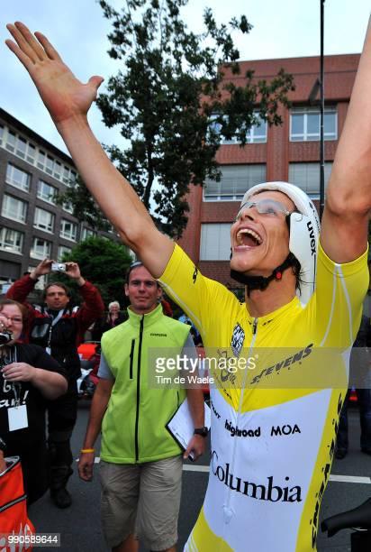 Tour Of Germany Stage 8Gerdemann Linus Yellow Jersey Celebration Joie Vreugde /Bremen Bremen Time Trial Contre La Montre Tijdrit Deutschland Tour...