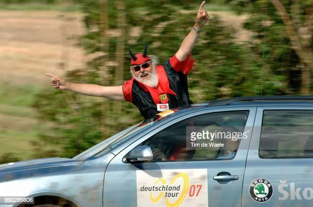 Tour Of Germany Stage 8Illustration Illustratie Didi Senf Devil Diable Duivel FRth FRth Time Trial Contre La Montre Tijdrit /Tour D'Allemagne Ronde...