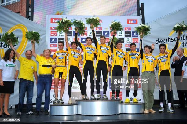 Tour Of Germany Stage 8Podium Bertogliati Rubens Belohvosciks Raivis Canada Gracia David Gonzalez Baeza Hector Capecchi Eros De La Fuente Rasilla...