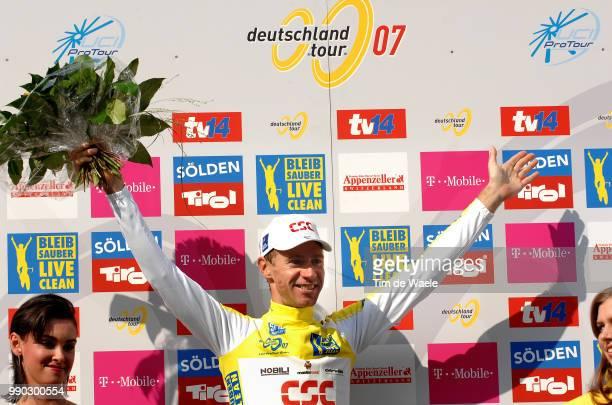 Tour Of Germany Stage 9Podium Voigt Jens Yellow Jersey Celebration Joie Vreugde /Einbeck Hannover Tour D'Allemagne Ronde Van Duitsland Deutschland...