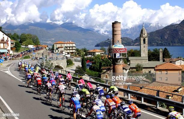 Tour Of Lombardie 2004Illustration Illustratie, Peleton Peloton Landscape Paysage Landschap, Lake Lac Meer De Comoworld Cup, Wereldbeker,...