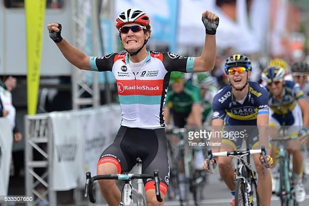 Tour of Luxembourg 2013/ Stage 2 Arrival/ Giacomo NIZZOLO Celebration Joie Vreugde/ / Marko KUMP / Paul MARTENS / Shifflange-Walferdange Rit Etape /...