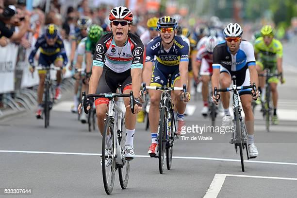 Tour of Luxembourg 2013/ Stage 2 Arrival Sprint/ Giacomo NIZZOLO Celebration Joie Vreugde/ / Marko KUMP / Paul MARTENS / Shifflange-Walferdange Rit...