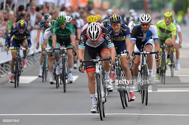 Tour of Luxembourg 2013/ Stage 2 Arrival Sprint/ Giacomo NIZZOLO / Marko KUMP / Paul MARTENS / Shifflange-Walferdange Rit Etape / Tim De Waele