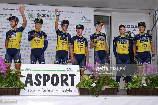 Tour of Luxembourg 2013/ Stage 2 Bruno PIRES / Chris Anker SORENSEN / Manuele BOARO / Marko KUMP / Karsten KROON / Timothy DUGGAN / Celebration Joie...