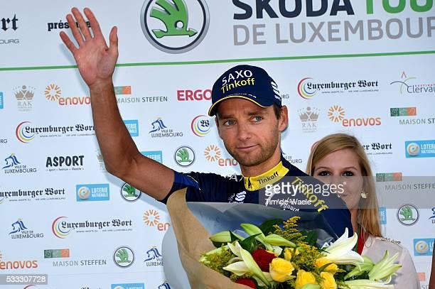 Tour of Luxembourg 2013/ Stage 2 Podiuml/ Marko KUMP /Celebration Joie Vreugde/ Shifflange-Walferdange Rit Etape / Tim De Waele