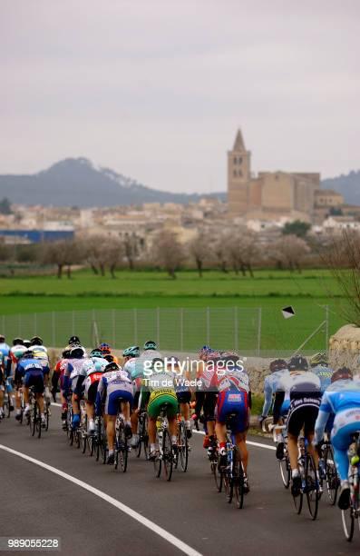 Tour Of Mallorca 2004Illustration Illustratie, Peleton Peloton Paysage Landscape Landschapronde Van Majorca, Tour De, Stage Etape 4 : Cala Bona -...