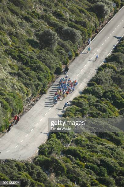 Tour Of Mallorca, Stage 3Illustration Illustratie, Coll Es Colomer, Air Lucht, Peleton Peloton, Landscape Paysage Landschappollenca - Port De...