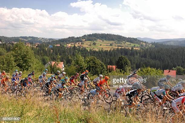 Tour of Poland 2011 / Stage 4 Illustration Illustratie / Peleton Peloton / Landscape Paysage Landschap / Oswiecim Cieszyn / Tour de Pologne / Ronde...