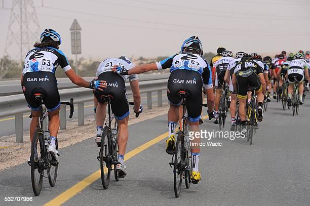 Tour of Qatar 2012 / Stage 5 Thomas DEKKER / Tyler FARRAR / Jack BAUER / Camel Race Track - Al Khor Corniche / Ronde / Rit Etape /Tim De Waele