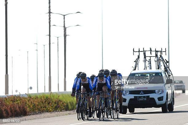 Tour of Qatar 2013 / Stage 2 Team Netapp Endura / Roger KLUGE / Zakkari DEMPSTER / Russell DOWNING / Markus EICHLER / Blaz JARC / Andreas SCHILLINGER...