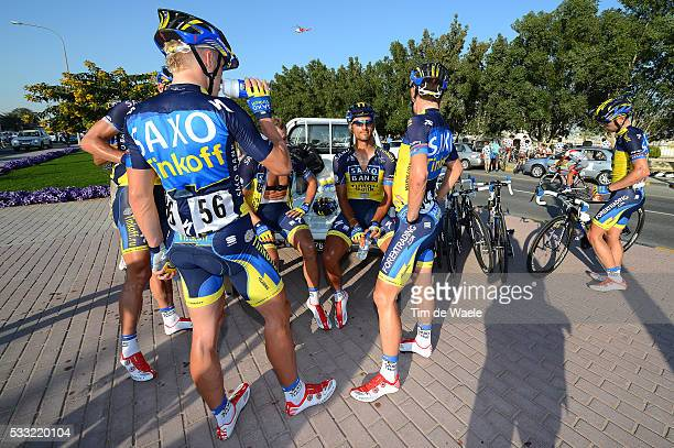 Tour of Qatar 2013 / Stage 3 Daniele BENNATI / Marko KUMP / Team Saxo Tinkoff Bank / Al Wakra - Mesaieed / Ronde Etape Rit /Tim De Waele