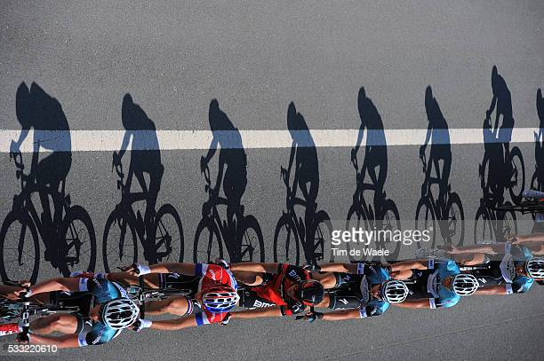 Tour of Qatar 2013 / Stage 4 Illustration Illustratie / Shadow hombre Schaduw / Peleton Peloton / Team Omega Pharma QuickStep OPQS / Camel Race Track...