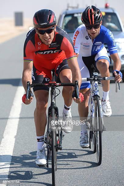 Tour of Qatar 2014 / Stage 2 GILBERT Philippe / REIJNEN Kiel / Camel Race Track - Al Khor Corniche / Rond Etape Rit/ Tim De Waele