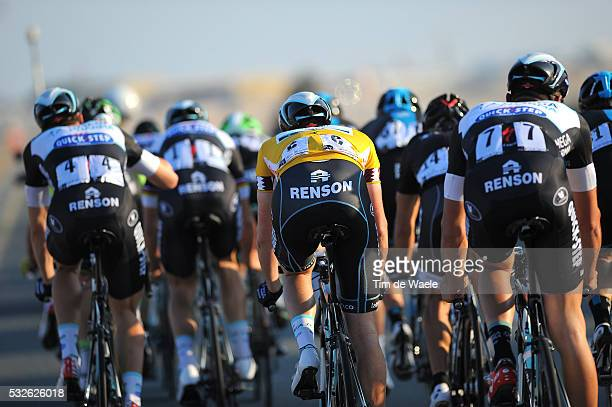 Tour of Qatar 2014 / Stage 2 Illustration Illustratie / TERPSTRA Niki Yellow Leader Jersey / Team Omega Pharma Quick-Step OPQS / Camel Race Track -...