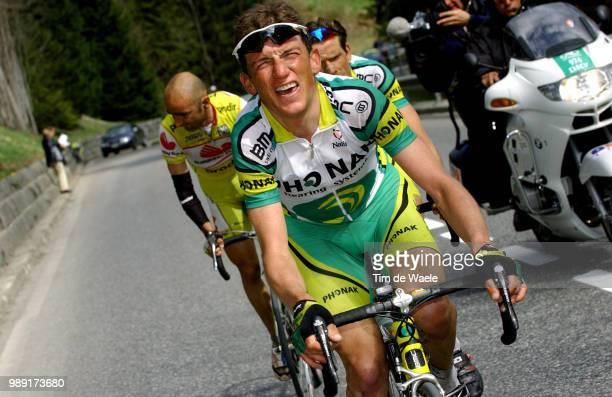 Tour Of Romandie 2004 Piepoli Leonardo , Hamilton Tyler Stage 3 : Romont - Morginsronde, Etape Rit