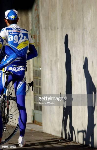 Tour Of Romandie 2004Illustration Illustratie, Team Equipe Ploeg Ag2R, Shadow Schaduw Hombregeneve - Geneveprologue, Proloog, Contre La Montre Time...