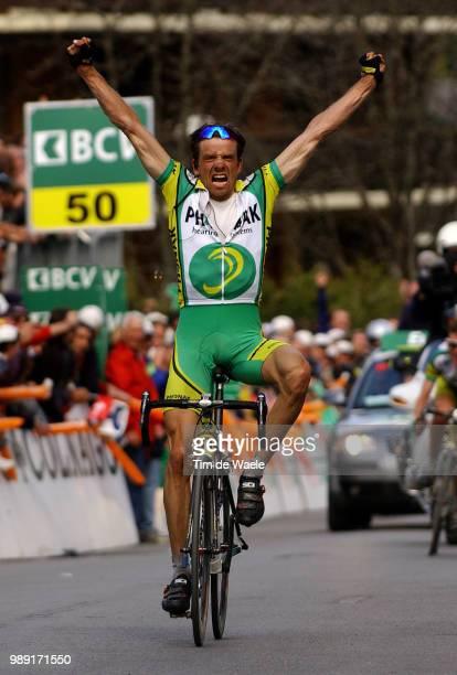 Tour Of Romandie 2004Moos Alexandre Joie Celebration Vreugde Stage 3 : Romont - Morginsronde, Etape Rit