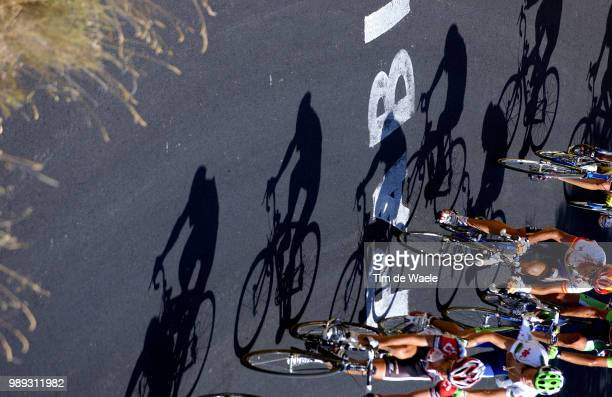 Tour Of Spain 2004Illustration Illustratie, Shadow Hombres Schaduw, Valverde Alejandro , Mancebo Francisco Stage Etape Rit 14 : Malaga -...