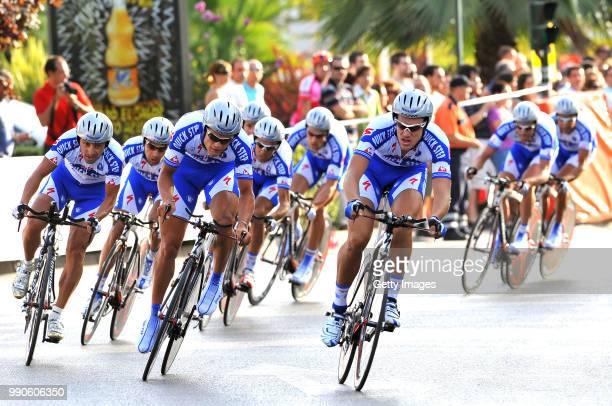 Tour Of Spain Stage 1 Bettini Paolo Barredo Carlos Boonen Tom Garate Juan Manuel Weylandt Wouter Vigano Davide Tonti Andrea Tosatto Matteo Van Impe...