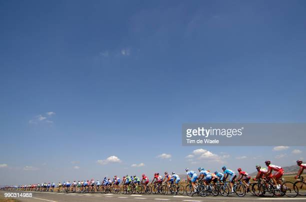 Tour Of Spain, Stage 17Illustration Illustratie, Peleton Peloton, Landscape Paysage Landschap, Sky Ciel Lucht /Ciudad Real - Talavera De La Reina...