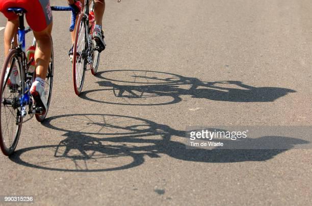 Tour Of Spain, Stage 17Illustration Illustratie, Shadow Hombre Schaduw, Olmo Juan , Garcia Marin Jorge /Ciudad Real - Talavera De La Reina Vuelta...