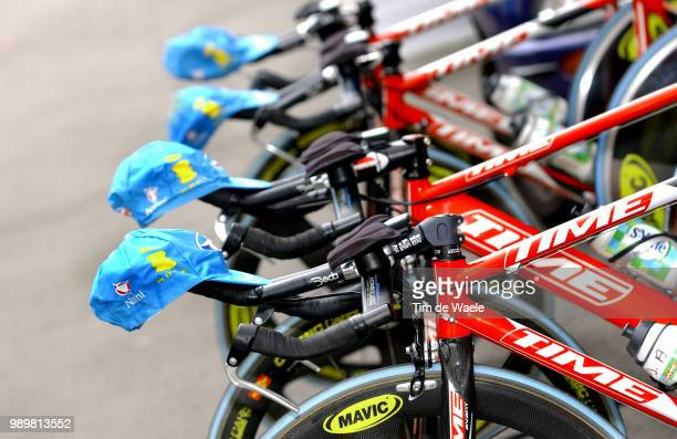 Tour Of Switserland, Stage 2Illustration Illustratie, Time Bike Velo Fiets, Team Bouygues Telecomstage 2 : Weinfelden - Weinfeldentime Trial Contre...