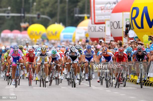 Tour Poland, Stage 2Arrival Sprint, Angelo Furlan , Juan Jose Haedo , Adre Greipel , Jurgen Roelandts , Graeme Brown , Alexandre Usov / Sebastien...