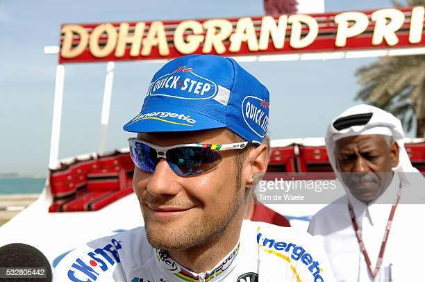 Tour Qatar 2006. Stage 1. Khalifa Stadium - Al Khor Corniche . Tom Boonen .