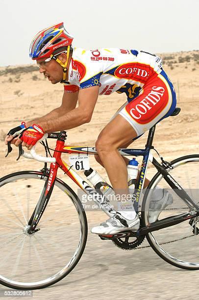 Tour Qatar 2006. Stage 2. Camel Race Track - Al Khor Corniche . Hervé Duclos-Lassalle .