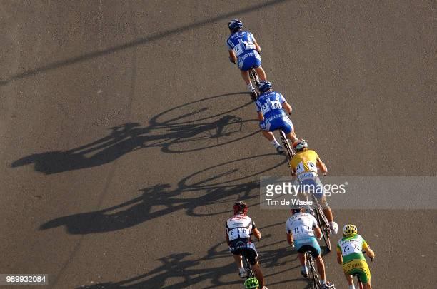 Tour Qatar 2006, Stage 4Boonen Tom Yellow Jersey, De Jongh Steven , Cretskens Wilfried , Zabel Erik , O'Grady Stuart , Guidi Fabrizio , Illustratie,...