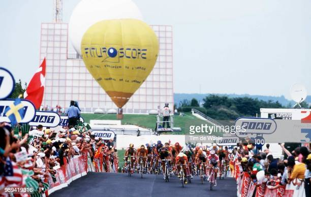 Cycling TourDeFrance99Futuroscope Illustration Pelotonillustration Cyclisme Wielrennen Cyclingtour De France 99 Ronde Frankrijk 99Iso Sport Im 334959...