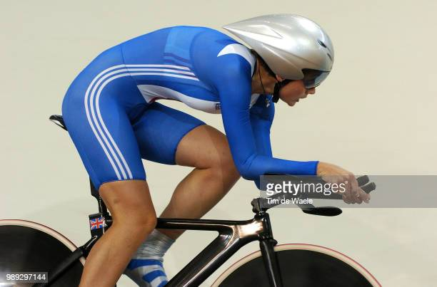 Track Piste Davies Emma Women Individual Pursuit Poursuite Individuel Femmes Tijdrit Achtervolging Vrouwen Athens 2004 Olympic Games...