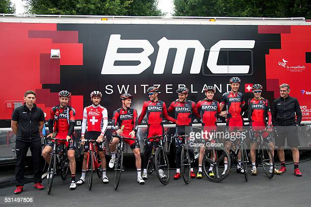 Training Amgen Tour of California 2016 / BMC Racing Team / Rohan DENNIS / Brent BOOKWALTER / JeanPierre DRUCKER / Taylor PHINNEY / Samuel SANCHEZ...