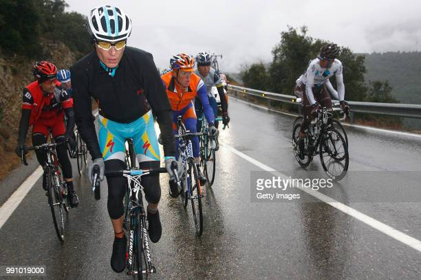 Volta A Catalunya 2012, Stage 3Janez Brajkovic / La Vall Den Bas - Port Del Canto Original Finish At Port-Aine / Stage Shortened Due To Heavy Snow,...