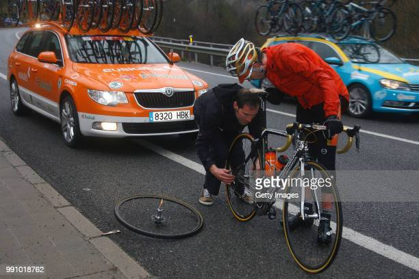 Volta A Catalunya 2012, Stage 3Samuel Sanchez / Mechnaical Problem, La Vall Den Bas - Port Del Canto Original Finish At Port-Aine / Stage Shortened...